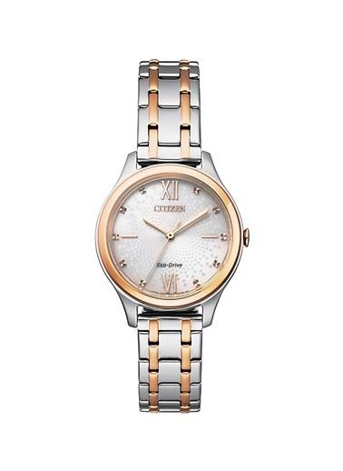 Citizen Eco-Drive Em0506-77A Kadın Kol Saati Gümüş